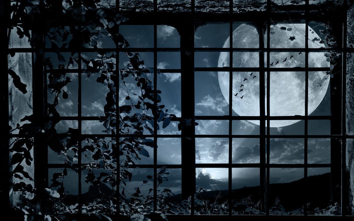 Луна за решеткой